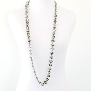 Kenneth Cole Necklace Metallic Crystal Beads